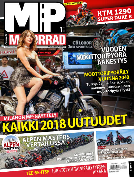 Bike powered by Motorrad Finland December 14, 2017 00:00