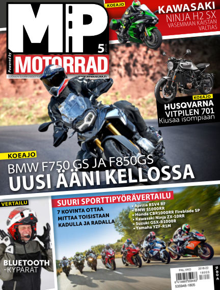 Bike powered by Motorrad Finland May 03, 2018 00:00