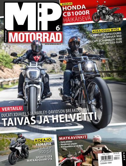 Bike powered by Motorrad Finland May 31, 2018 00:00