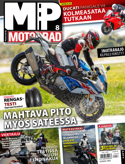 Bike powered by Motorrad Finland August 02, 2018 00:00