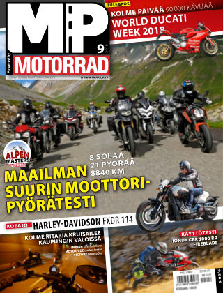 Bike powered by Motorrad Finland 2018-10-04