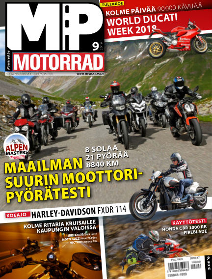 Bike powered by Motorrad Finland October 04, 2018 00:00