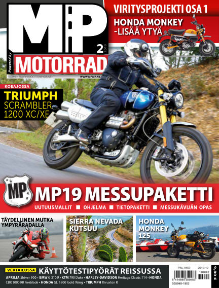 Bike powered by Motorrad Finland January 24, 2019 00:00