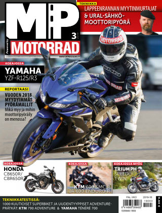 Bike powered by Motorrad Finland 2019-03-21