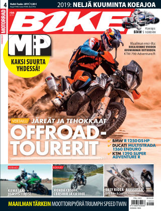 Bike powered by Motorrad Finland 2019-04-18
