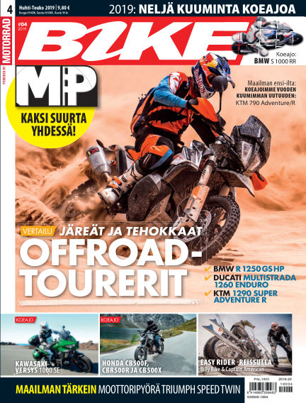 Bike powered by Motorrad Finland April 18, 2019 00:00