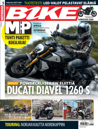 Bike powered by Motorrad Finland 2019-05-16