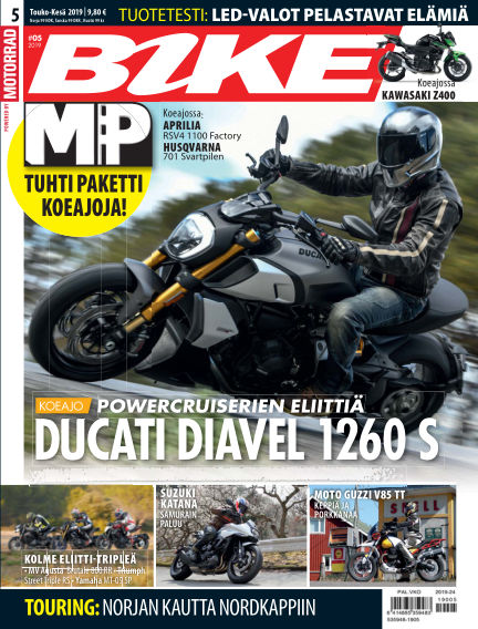 Bike powered by Motorrad Finland May 16, 2019 00:00
