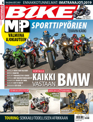 Bike powered by Motorrad + MP Maailma Finland 2019-06-13