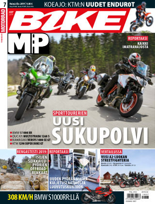 Bike powered by Motorrad Finland 2019-07-11