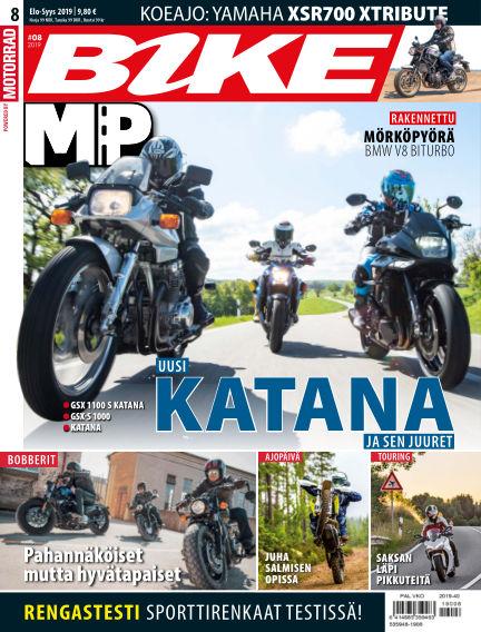 Bike powered by Motorrad Finland August 08, 2019 00:00