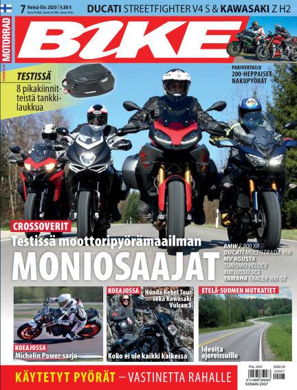 Bike powered by Motorrad Finland July 09, 2020 00:00