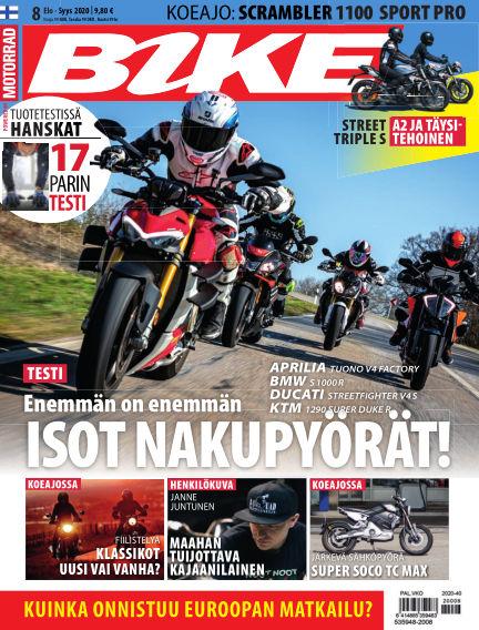 Bike powered by Motorrad Finland August 06, 2020 00:00
