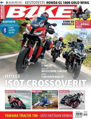 Bike powered by Motorrad Finland 2020-10-01