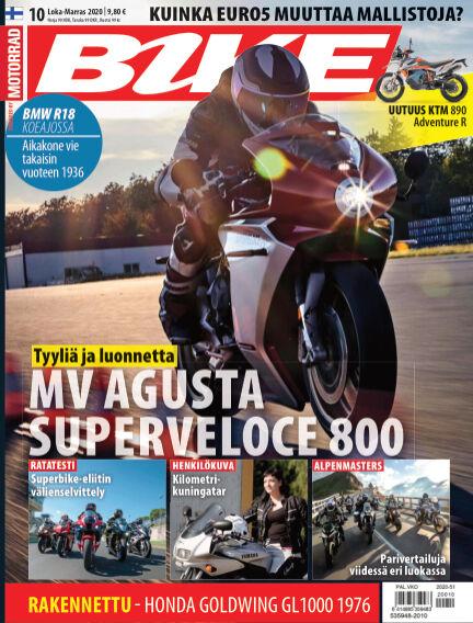 Bike powered by Motorrad Finland November 19, 2020 00:00