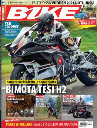 Bike powered by Motorrad Finland 2020-12-17