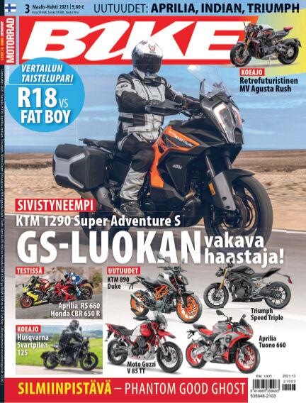 Bike powered by Motorrad Finland March 04, 2021 00:00