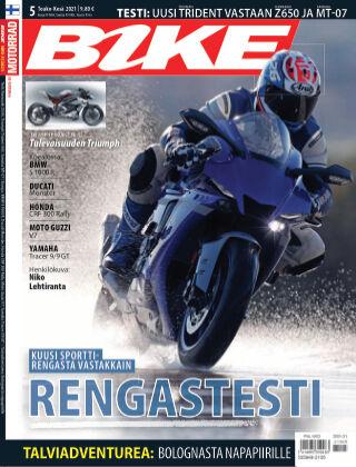 Bike powered by Motorrad Finland 2021-04-29