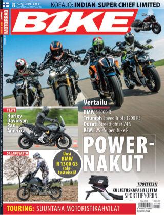 Bike powered by Motorrad Finland 2021-07-22