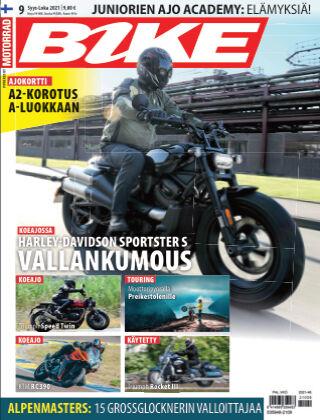Bike powered by Motorrad Finland 2021-09-30