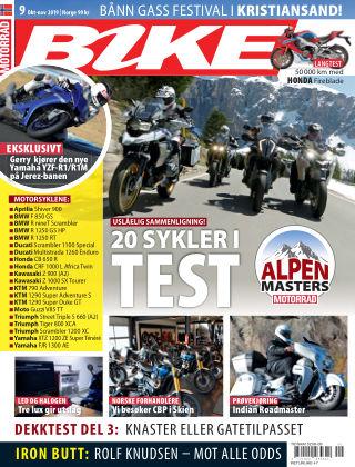 Bike powered by Motorrad Norway 2019-10-03