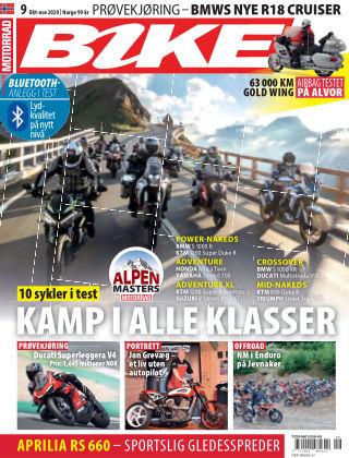 Bike powered by Motorrad Norway 2020-10-01
