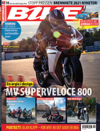 Bike powered by Motorrad Norway 2020-11-19