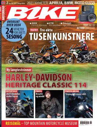 Bike powered by Motorrad Norway 2021-01-28