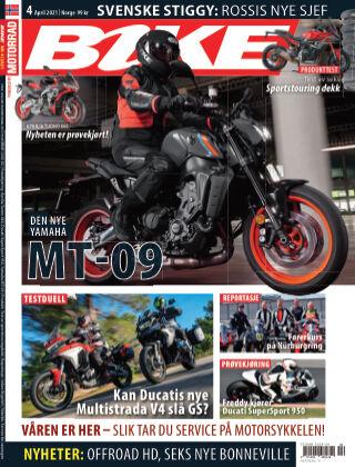Bike powered by Motorrad Norway 2021-04-01