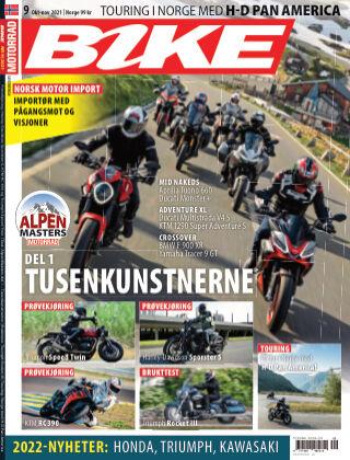 Bike powered by Motorrad Norway 2021-09-30