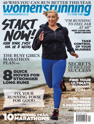 Women's Running April 2016