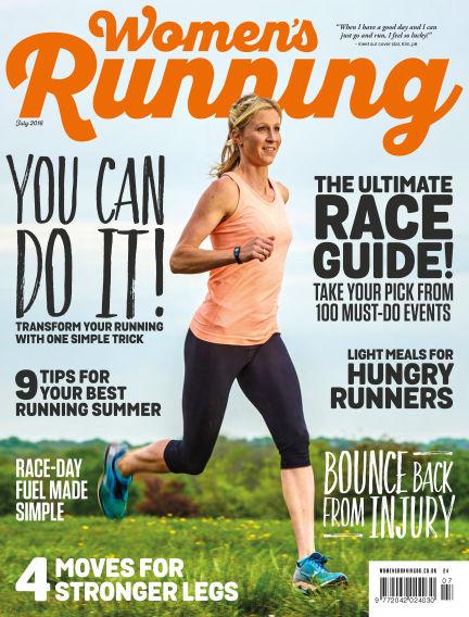 Women's Running May 26, 2016 00:00