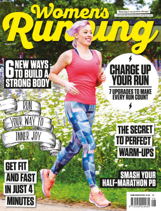 Women's Running August 2017