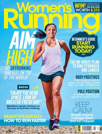 Women's Running July 25, 2019 00:00