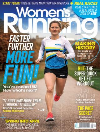 Women's Running April 2021