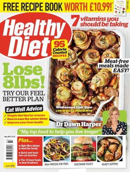 Healthy Diet October 26, 2018 00:00