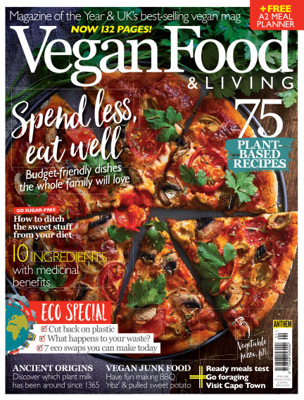 Vegan Food & Living March 21, 2018 00:00
