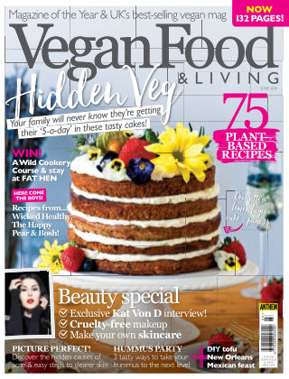 Vegan Food & Living June 2018
