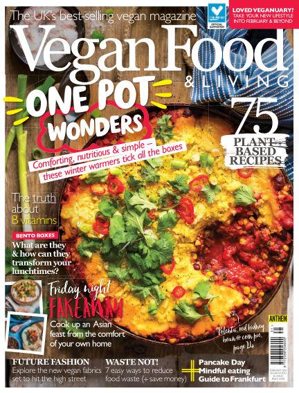 Vegan Food & Living January 23, 2019 00:00