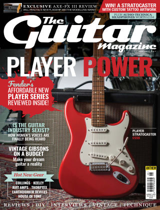 The Guitar Magazine AUGUST
