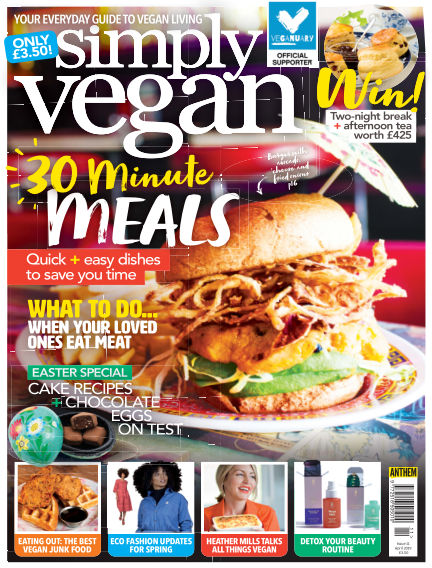 Simply Vegan March 06, 2019 00:00