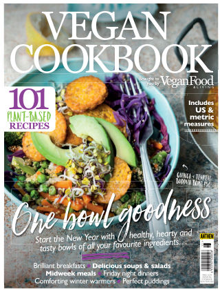Vegan Food & Living Cookbook New Year 2020