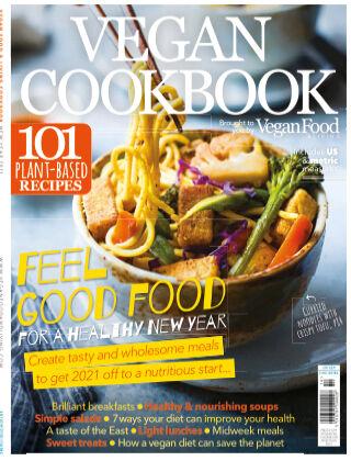 Vegan Food & Living Cookbook New Year