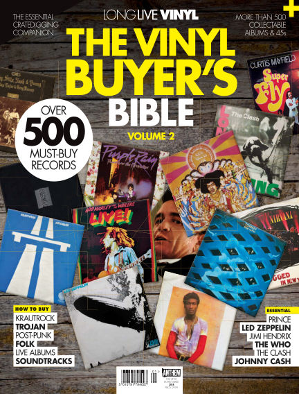 Long Live Vinyl: The Vinyl Buyer's Bible November 16, 2018 00:00