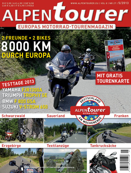 ALPENTOURER – Motorrad-Reisen in Europa August 23, 2013 00:00