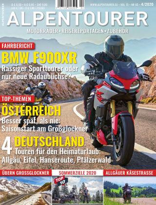 ALPENTOURER – Motorrad-Reisen in Europa 04-2020