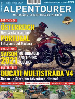 ALPENTOURER – Motorrad-Reisen in Europa 01-2021