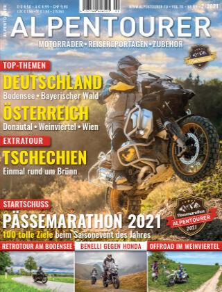 ALPENTOURER – Motorrad-Reisen in Europa 02-2021