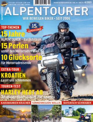 ALPENTOURER – Motorrad-Reisen in Europa 04-2021