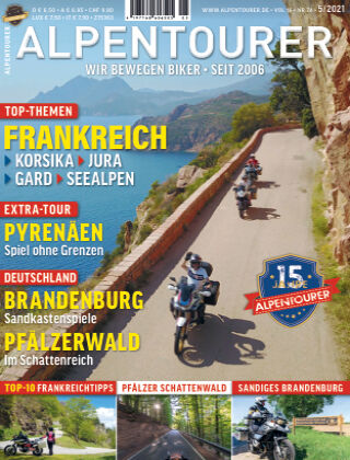 ALPENTOURER – Motorrad-Reisen in Europa 05-2021